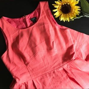 J. Crew dress in excellent condition peach/coral